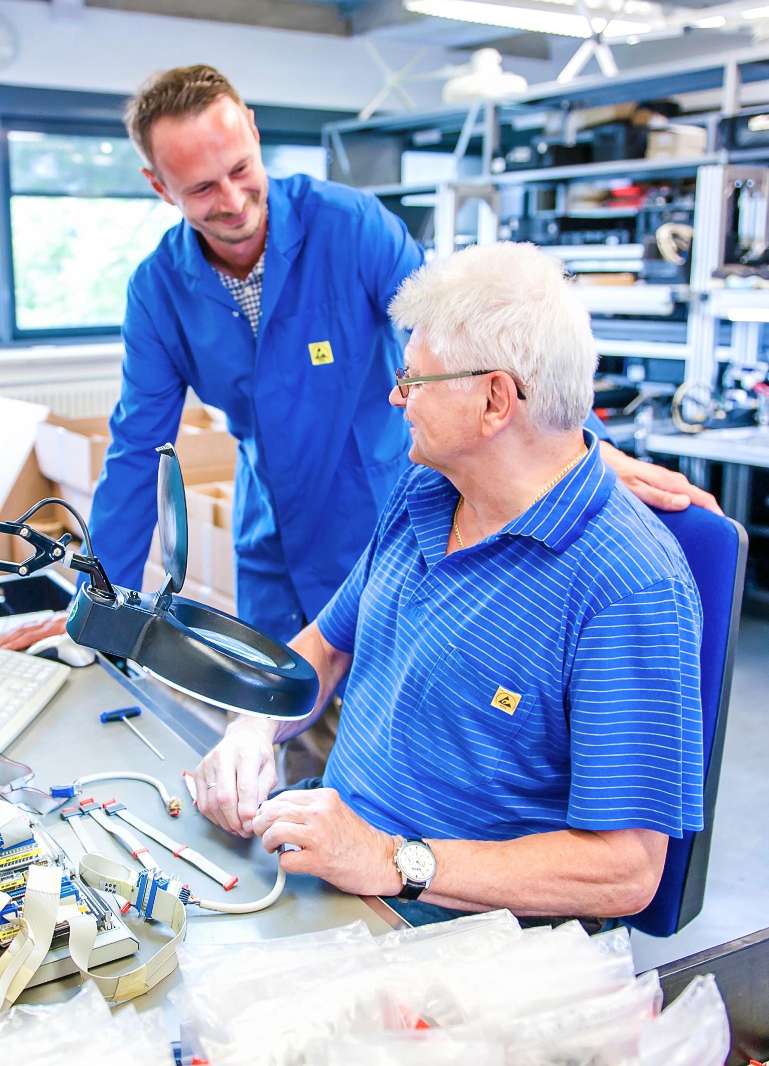 wabe SMD- und THT Elektronikfertigung   Kabelkonfektio